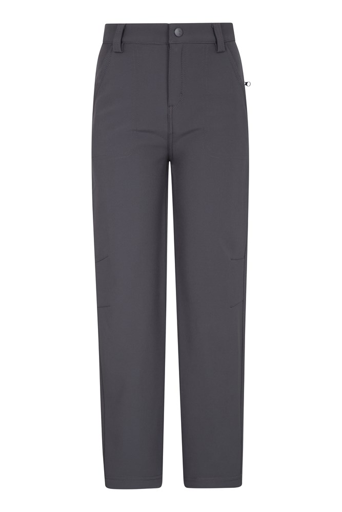 Softshell Kids Trousers - Grey