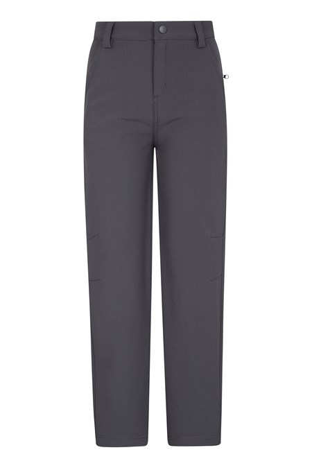 023295 SOFTSHELL YOUTH TROUSER
