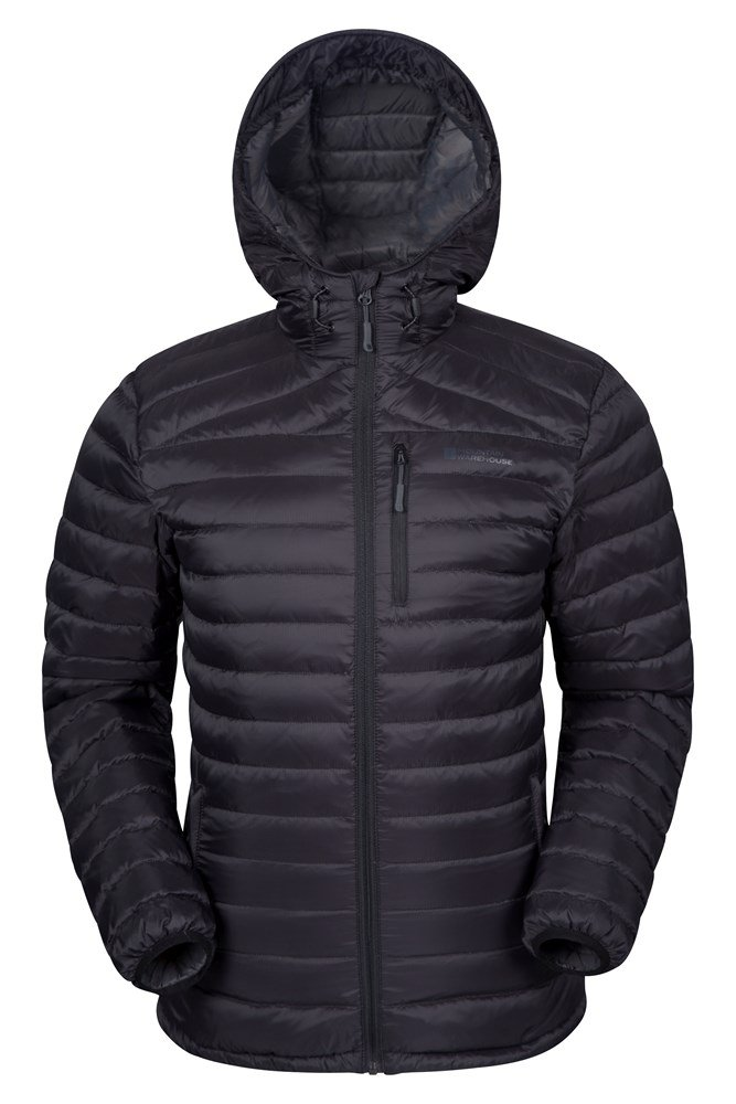 Henry Mens Down Padded Jacket - Black