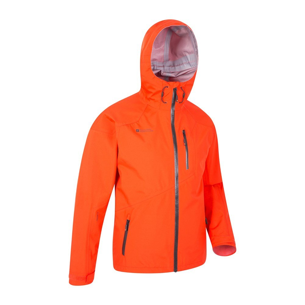 Mountain Warehouse Mens Lightweight 3 Layer Waterproof Rating with Breathability