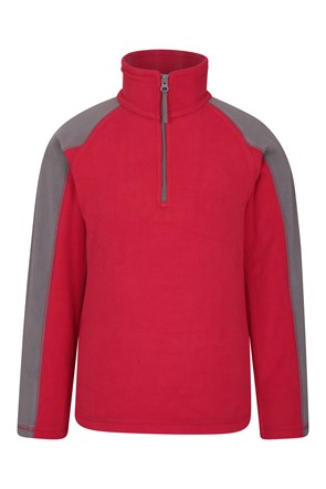 Ashbourne Kinder-Fleecejacke