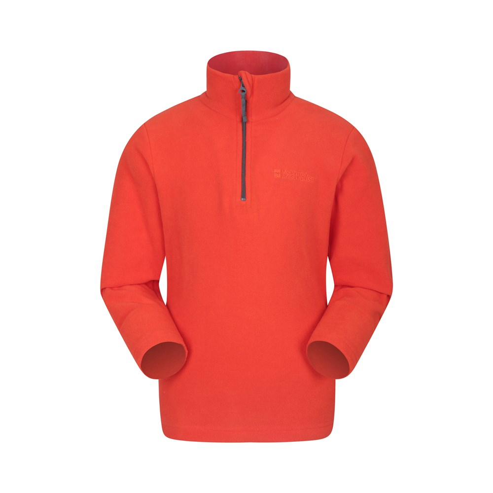Mountain-Warehouse-Camber-Kids-Fleece-Top-Jumper-Lightweight-amp-Breathable thumbnail 64