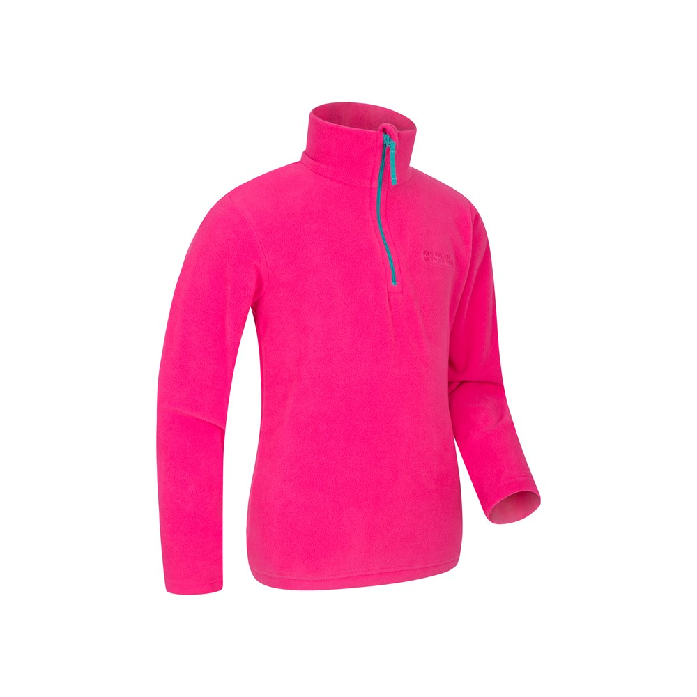 Mountain Warehouse Camber Kids Fleece Quick Drying Lightweight /& Breathable