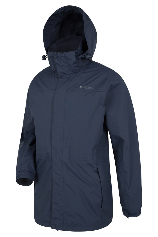 Glacier Extreme Mens Long Waterproof Jacket | Mountain Warehouse GB