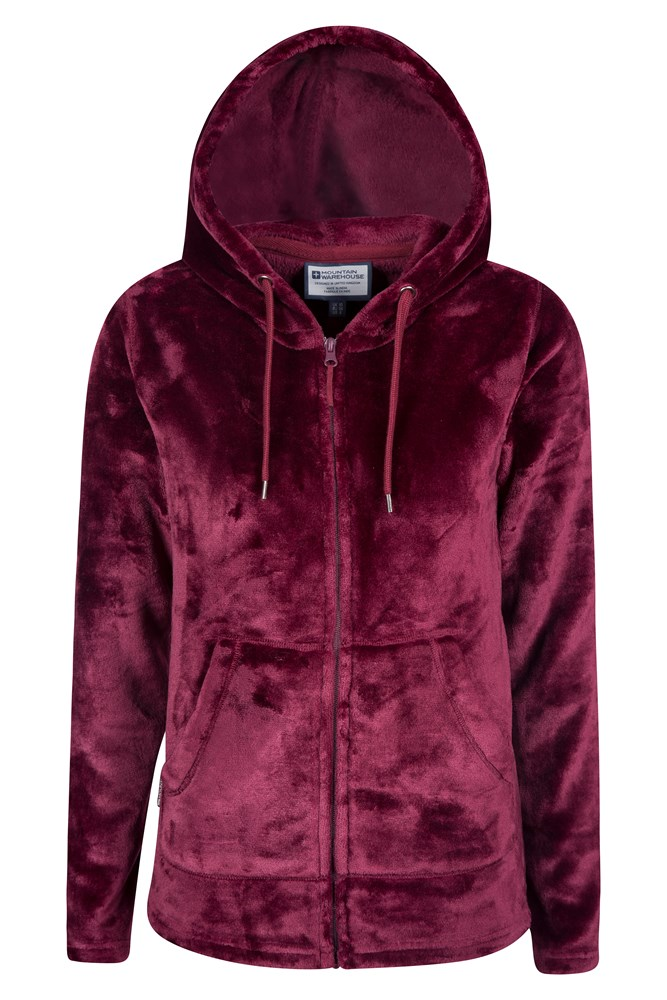 Snaggle Womens Hooded Fleece | Mountain Warehouse GB