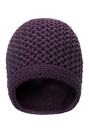 Double Layer Womens Slouch Beanie