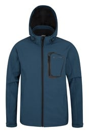 Glover Mens Textured Softshell Jacket