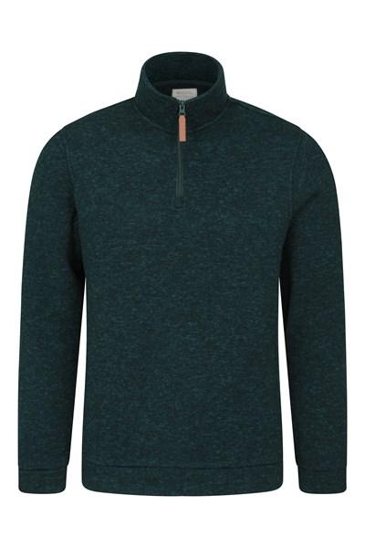 Idris Mens Fleece - Green