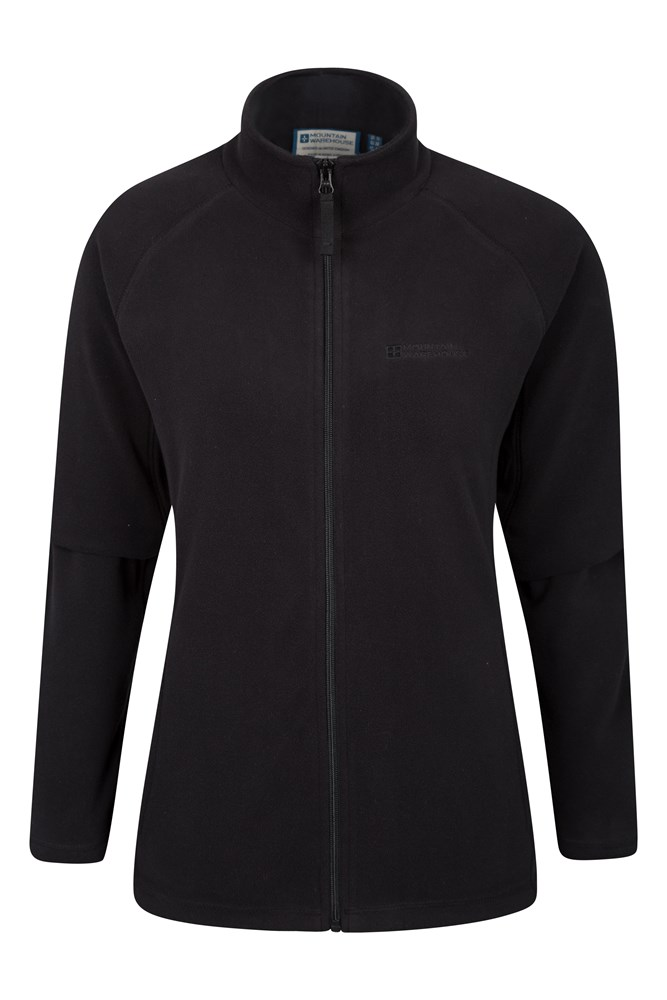 Raso Womens Fleece - Black