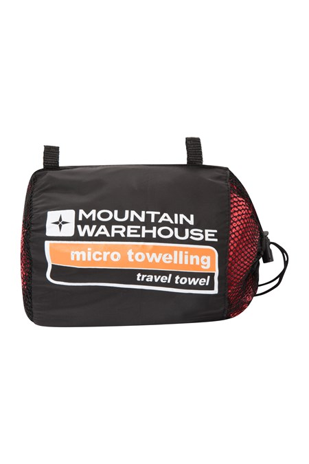 023495 MICRO TOWELLING TRAVEL TOWEL LARGE 130X70CM