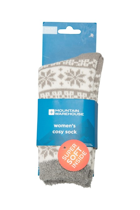 023501 COSY GRIFFIN LINED WOMENS SOCK