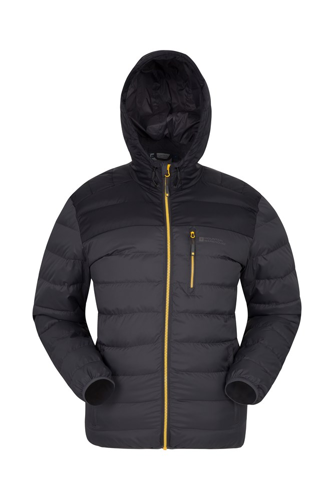 Link Mens Padded Jacket - Grey