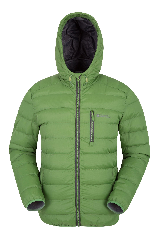 Mountain warehouse chaqueta acolchada link para hombre
