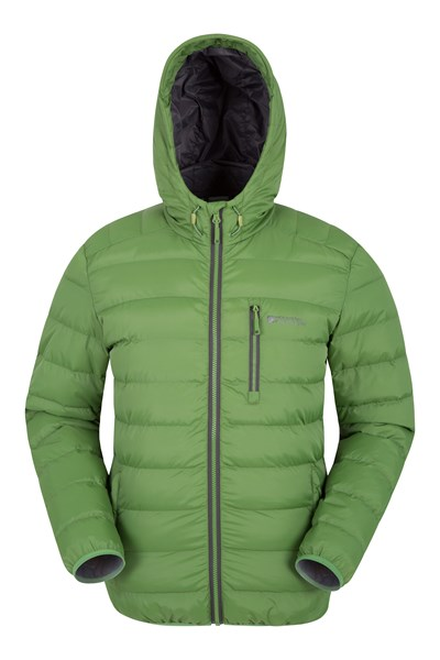 Link Mens Padded Jacket - Green