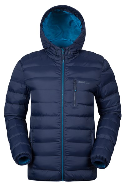 Link Mens Padded Jacket - Navy