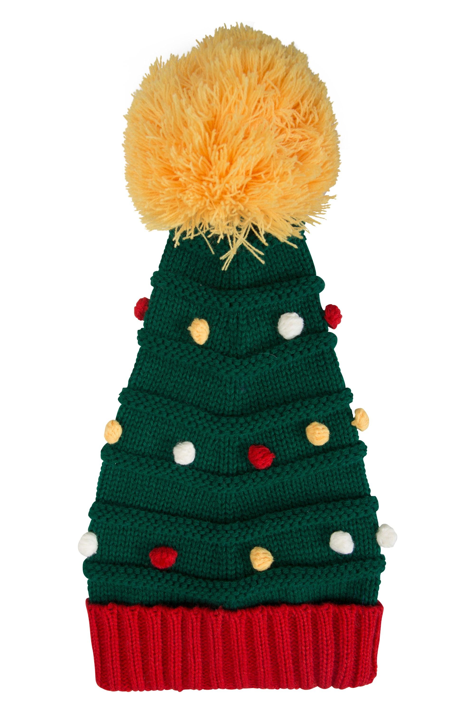 Christmas Tree Beanie - Green