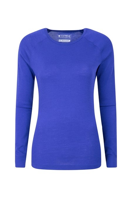 023557 MERINO WOMENS LONG SLEEVE TOP