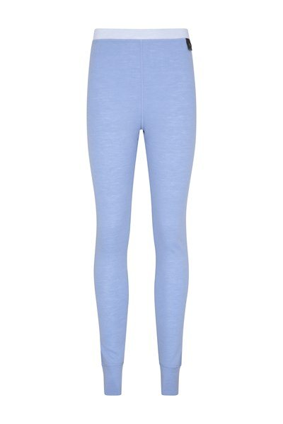 Merino Womens Pants - Blue