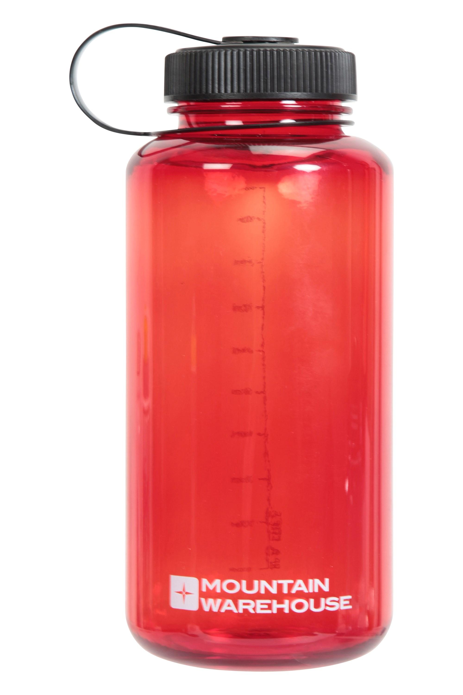 Mountain Warehouse BPA Free Plastic Bottle Wide Screw Top Lid 1 l