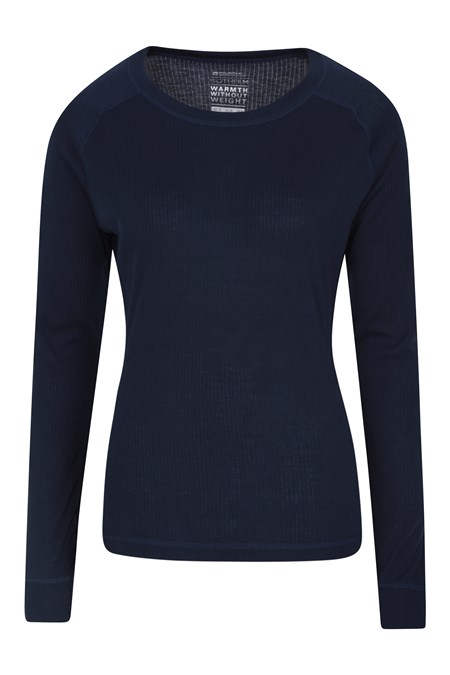 023570 TALUS WOMENS LS ROUND NECK TOP