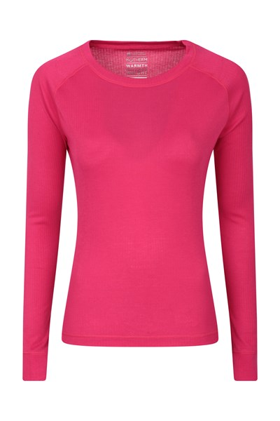 Talus Womens Long Sleeved Top - Pink