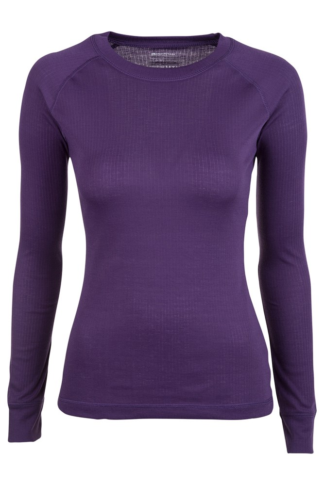 Talus Womens Long Sleeved Top - Purple