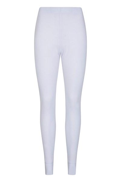 Talus Womens Base Layer Pants - White