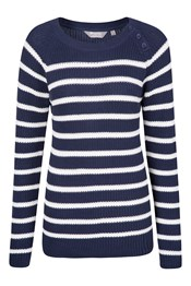 Kristy Stripe Knitted Womens Jumper