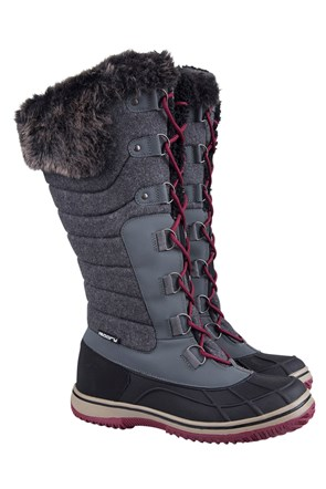 Frozen Womens IsoGrip Snow Boots