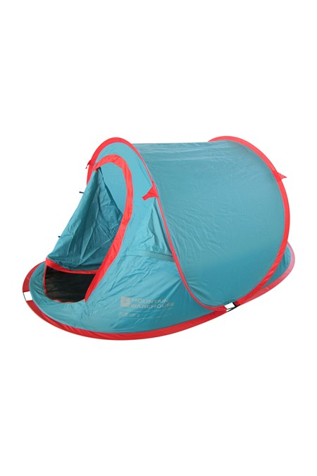 Mountain Warehouse Tente montage instantané 2 places résistante à l/'eau idéale