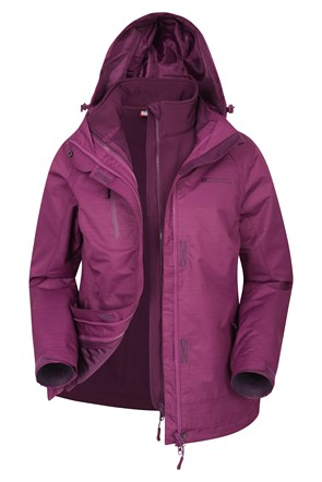 Bracken Melange 3-in-1 Damenjacke