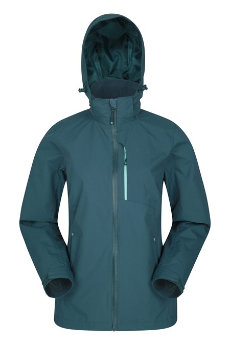 023757 RAINFOREST WATERPROOF WOMENS JACKET