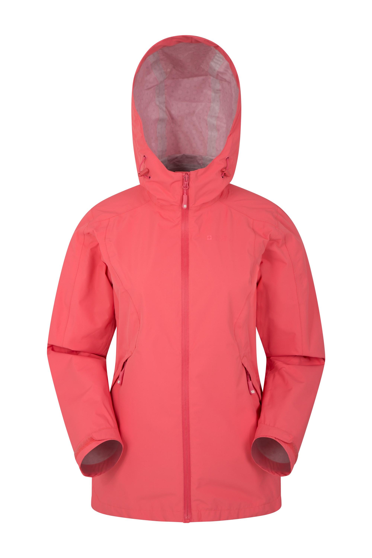 Gale Womens Waterproof 2.5 Layer Jacket - Pink