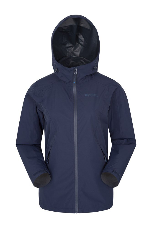 Gale Womens Waterproof 2.5 Layer Jacket - Navy