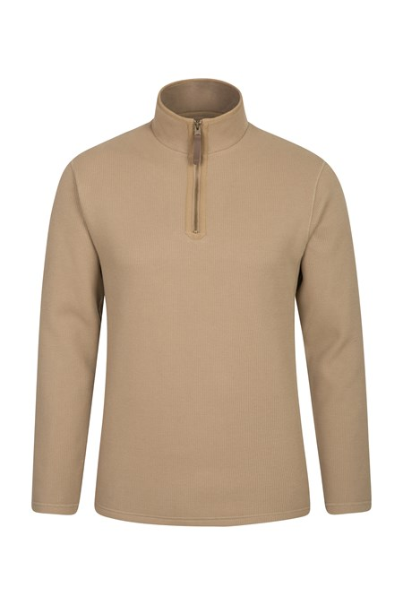 023791 BETA ZIP NECK TOP