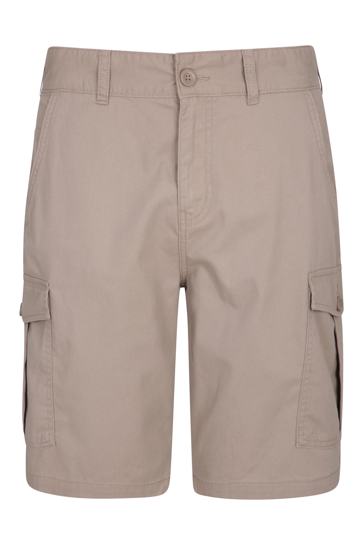 Patterned 3-legged Stool - Brown