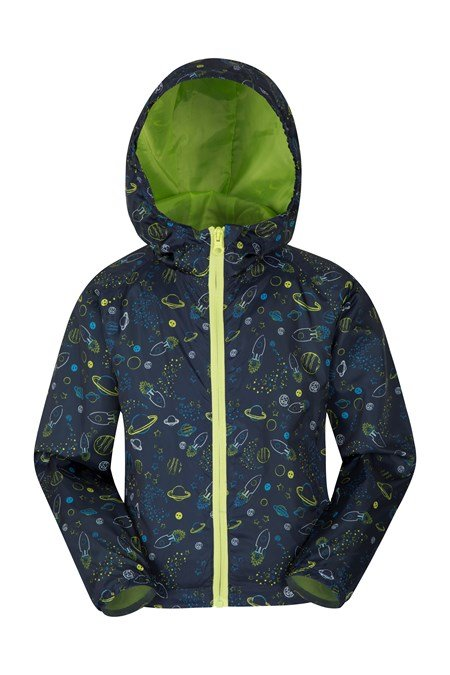 023909 GIZMO KIDS LIGHTWEIGHT WATER RESISTANT SHELL JACKET