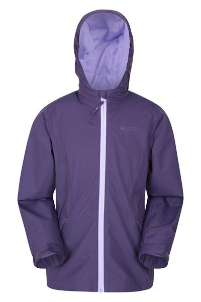 Luna Kids Waterproof Jacket - Purple