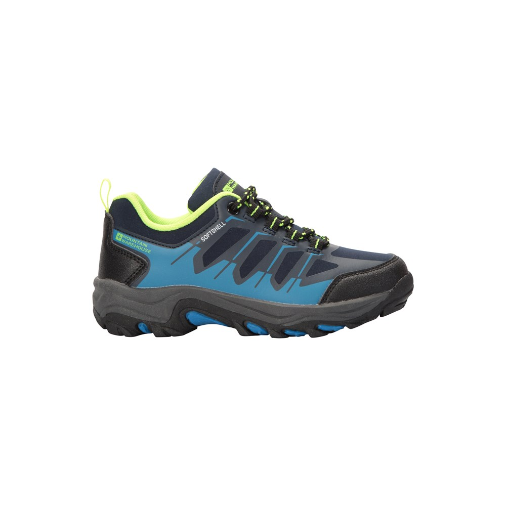 Mountain-Warehouse-Girls-Durable-Shoes-with-Synthetic-Upper-Breathable-amp-Deep-Lugs thumbnail 6