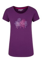 Forest Trees Womens T-Shirt