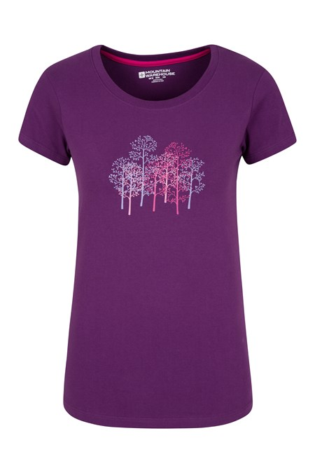 T shirt damski forest trees mountain warehouse pl for Rainforest t shirt fundraiser