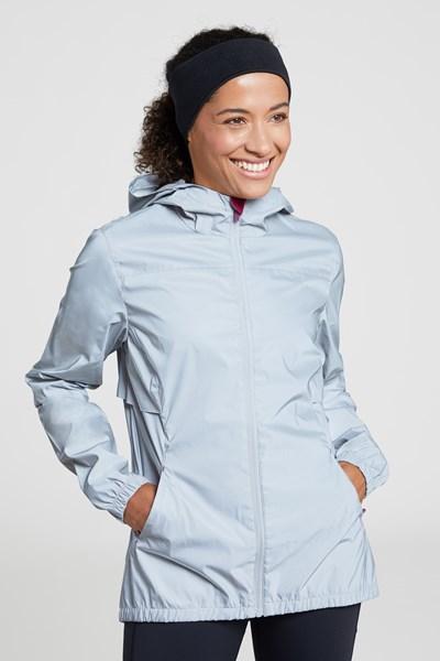 Dashing Womens Reflective Jacket - Silver