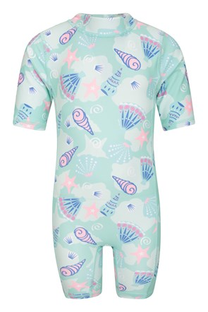 Printed Infant Rash Swim Suit