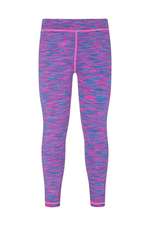 Mountain Warehouse Cosmo Space Dye Kinder-Leggings pink | 05057634038829