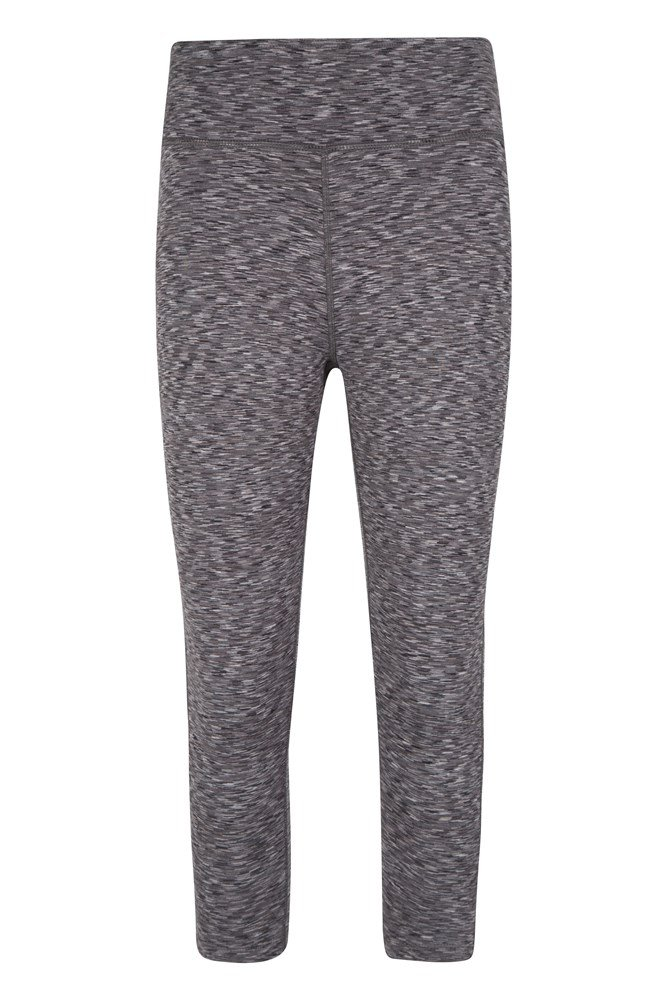 ISOCOOL Dynamic 3/4 Space Dye Leggings - Grey