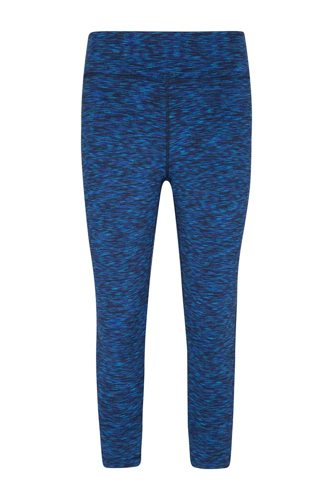 ISOCOOL Dynamic 3/4 Space Dye Leggings - Navy