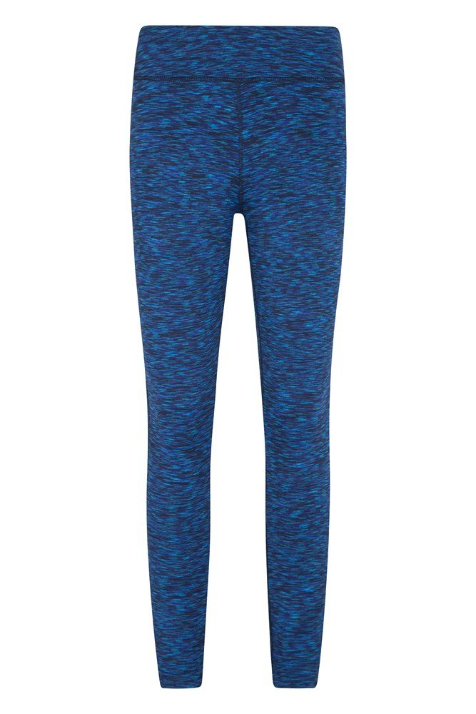 ISOCOOL Dynamic Full Length Space Dye Leggings - Navy