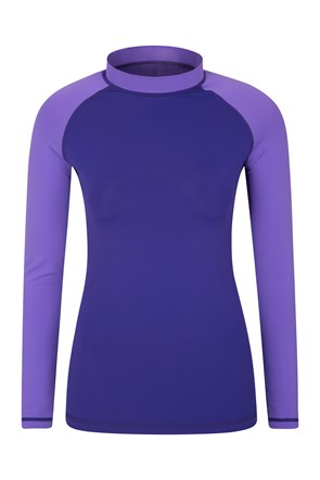 Womens Long Sleeve Rash Vest