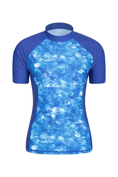 024133 WOMENS PATTERNED UV SS RASH VEST
