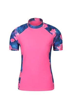 Womens Patterned Rash Vest